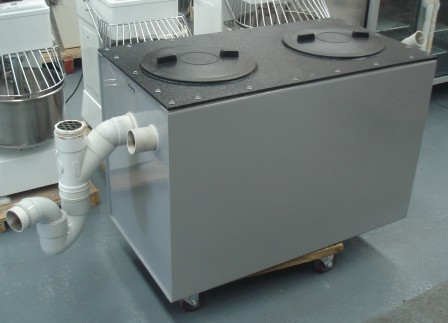 Compact kitchen units for Kitchen grease trap