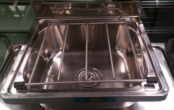 Stainless Steel Mop Sink Commercial : STAINLESS STEEL MOP SINK/CLEANERS SINK USED Commercial Kitchen ...