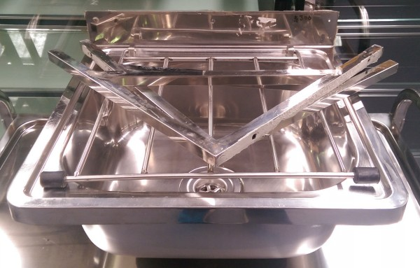 Stainless Steel Mop Sink Cleaners Sink Used Commercial