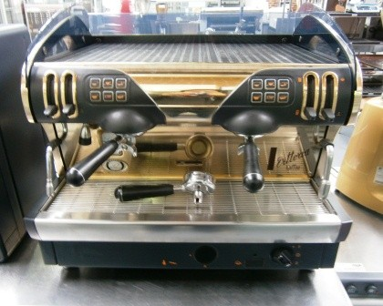 Sold Faema Smart A2r Two Group Coffee Machine Gold Sold