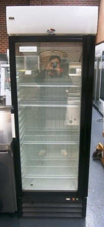 Carrier Fv400 Upright Single Glass Door Display Freezer