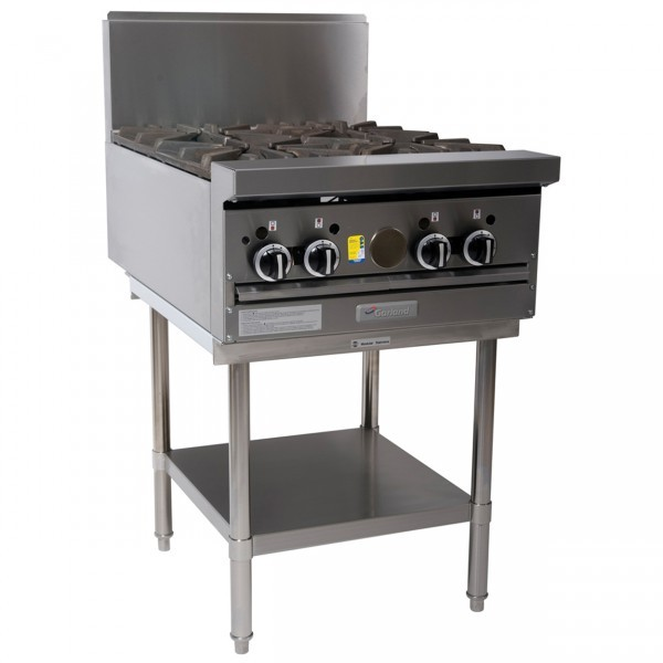 Garland 4 Burner Gas Cooktop With Stand GF24-4T