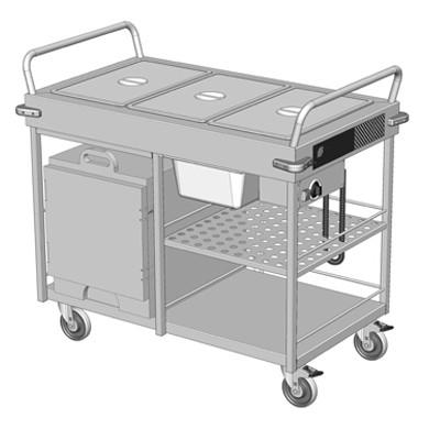 culinaire mobile care service bain marie ch cbmx m cs. Black Bedroom Furniture Sets. Home Design Ideas