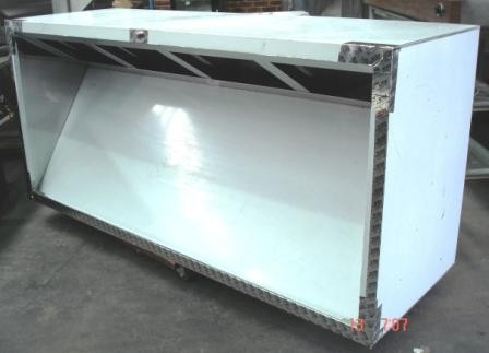 Stainless Steel Exhaust Canopy Commercial Canopies