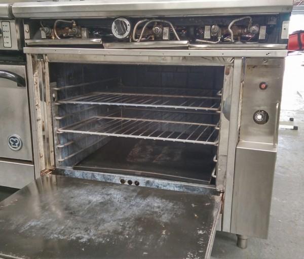 Comcater 6 Burner Oven Range Used Commercial Kitchen