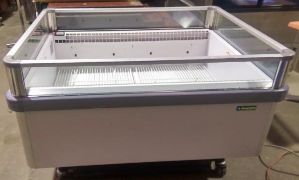 Used Oscar Open Top Island Freezer 1200 Bt Tn Commercial