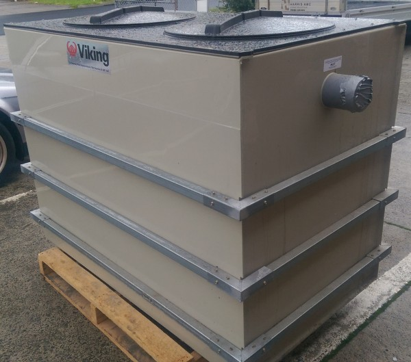 USED VIKING 1100LITRE GREASE TRAP , GREASE INTERCEPTOR