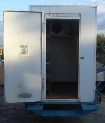 Sold Cool Room Trailer 2400x1600x2200 Portable Cool
