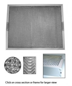 EXHAUST CANOPY FILTERS 497MM X 394MM  sc 1 st  Kitchen Equipment Australia & EXHAUST CANOPY FILTERS 497MM X 394MM | Commercial Kitchen ...