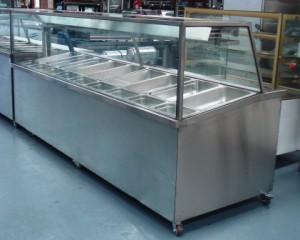 Sold Britex Sandwich Bar Display Fridge Straight Glass
