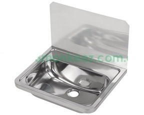 Monkeez Commercial Hand Basin With 300mm Splashback Model : HB300SB ...