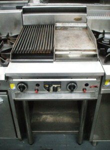 Sold Supertron Hot Plate And Char Grill Combination