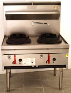 Supertron wok burners w14r series 14 inch wok tables for Viking wok burner