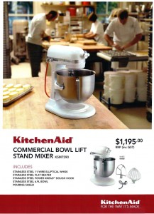 Kitchenaid Commercial Mixer Model Ksm7590 Commercial