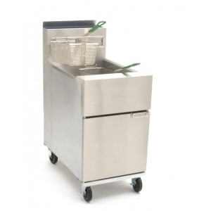 Dean SR162G Twin basket single pan FRYER