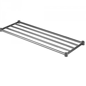 Simply Stainless Steel Under Shelf Piped Pot Rack