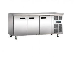 POLAR - G597-A - Polar 3 Door Counter Fridge 417Ltr Stainless Steel  sc 1 st  Kitchen Equipment Australia & POLAR - G597-A - Polar 3 Door Counter Fridge 417Ltr Stainless Steel ...