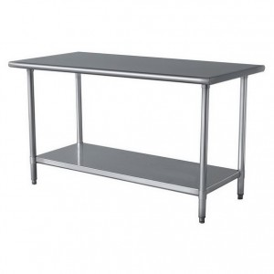 EXQUISITE WB Grade Stainless Steel Tables Commercial - Restaurant equipment stainless steel table