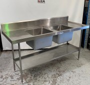 SIMPLY STAINLESS Stainless Steel Double