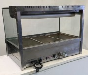 ROBAND Sqare Glass Hot Food Display