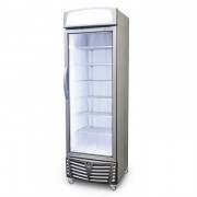 Bromic Glass Door Freezer 440L w/Lightbo