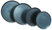 Black Steel Pizza pans , 8 inch