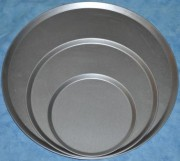 Aluminised steel Pizza trays , all sizes