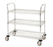 Stainless Steel Wire Service Trolleys