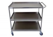 888 Stainless Steel Trolley 2 Tier - Mo