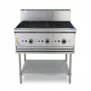 True heat B90 char grill with leg stand