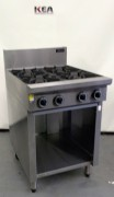Cobra C6D - 600mm Gas Cooktops - Open Ca