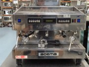 BOEMA  two group coffee machine  model :