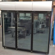 SKOPE  3 Door  Display Fridge Model:	SK2