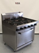 WALDORF  Gas Oven 6 Burner Range MODEL :