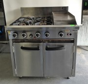 Cobra LPG Gas Range Static Oven  MODEL :