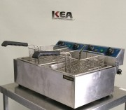 Royston Double Vat Electric Fryer MODEL
