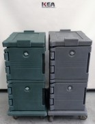 Used Cambro Hot & Cold Dual Food Storage