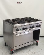ZANUSSI 6 BURNER GAS RANGE  model : PCFG