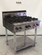 SUPERTRON Free Standing 6 burner Cook To