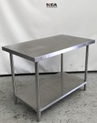 USED F.E.D  Stainless Steel Table 700 De