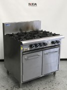 Luus 900 Wide Oven Ranges 6 burners & ov