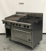 Goldstein 4 Burner Gas Range 600mm Plate