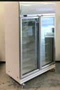 Bromic Double Glass Door Chiller