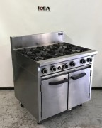 Cobra 6 Burner Gas Ranges