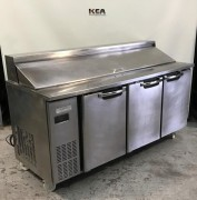 Skope Three Door Sandwich & Pizza Fridge